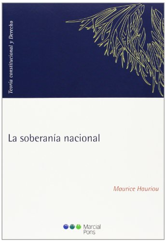 La soberanía nacional: Hauriou, Maurice