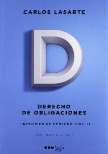 9788497687294: Principios de Derecho civil Tomo II: Derecho de obligaciones (Manuales universitarios)