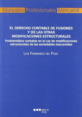 El Derecho contable de fusiones y de: Fernández del Pozo,