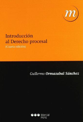 9788497688017: INTRODUCCION AL DERECHO PROCESAL (4ª ED. 2010)