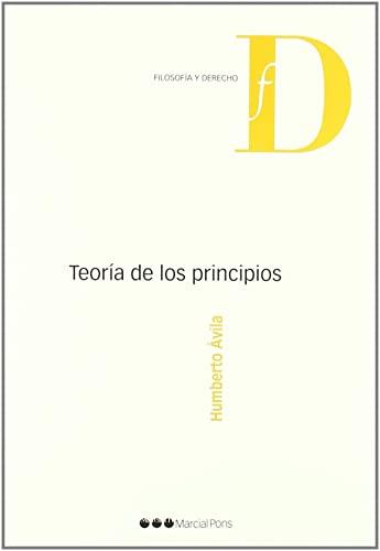 9788497688468: Teoría de los principios (Filosofía y Derecho)