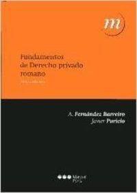 9788497688567: Fundamentos de Derecho privado romano (Manuales Universitarios)