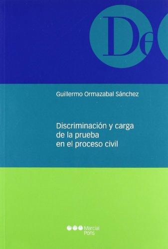 Discriminación y carga de la prueba en: Ormazabal Sánchez, Guillermo