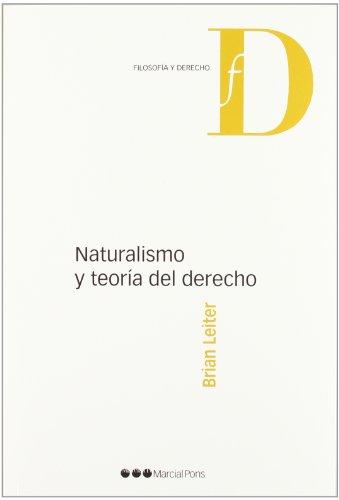 9788497689618: NATURALISMO Y TEORIA DEL DERECHO