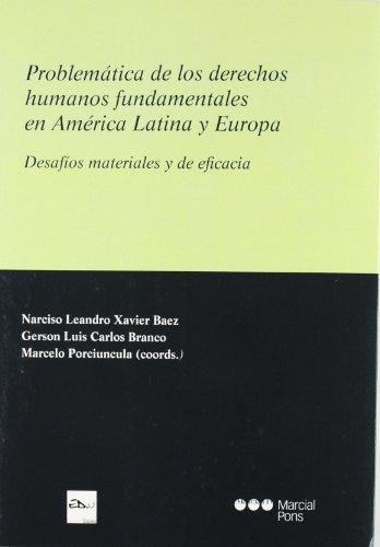 9788497689854: PROBLEMATICA DE LOS DERECHOS HUMANOS FUNDAMENTALES EN AMERICA LAT INA Y EUROPA