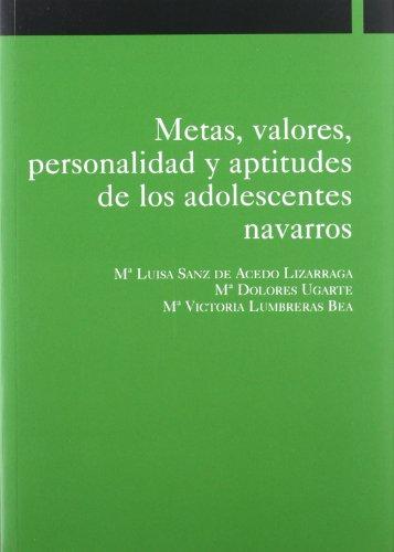 Metas, valores, personalidad y aptitudes de los: María Victoria Lumbreras