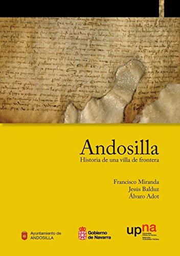 Andosilla : historia de una villa de: Álvaro Adot Lerga,