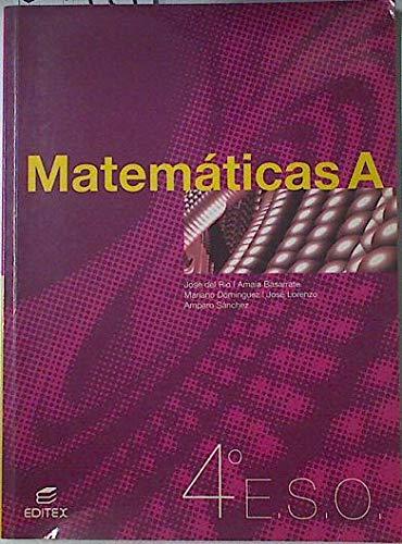 9788497710312: (2) eso 4 - matematicas a