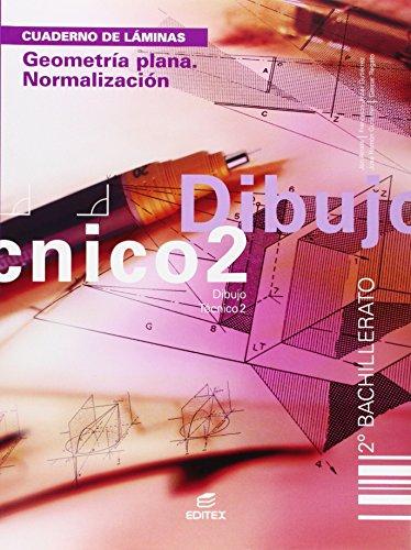 9788497712491: cuaderno dibujo tecnico 2 bch geometria plana