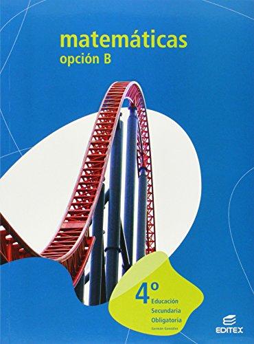 9788497713436: MATEMATICAS 4? ESO OPCION (B) 2008