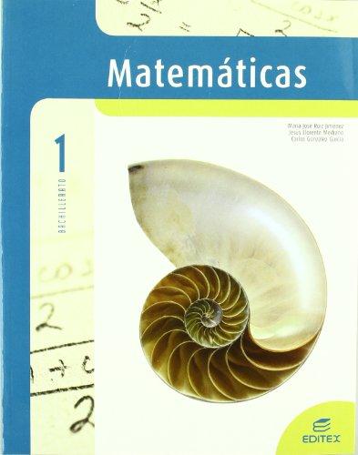 9788497713450: Matemáticas aplicadas a Ciencias Naturales 1º Bachillerato - 9788497713450