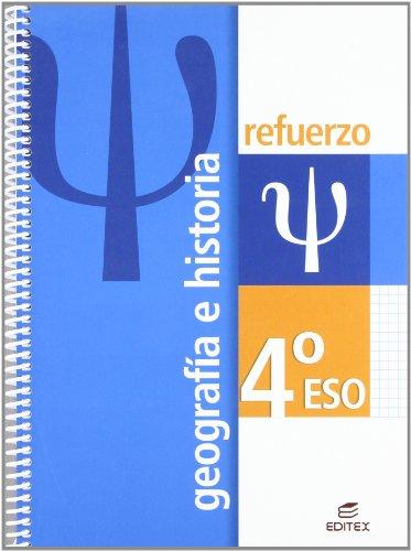 9788497714334: Refuerzo Geografía e Historia 4º ESO (Cuadernos de Refuerzo) - 9788497714334