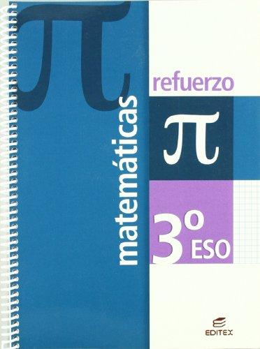 9788497714402: Refuerzo Matemáticas 3º ESO (Cuadernos de Refuerzo) - 9788497714402