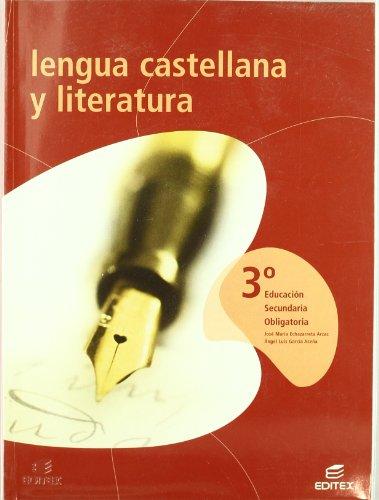 Lengua y literatura 3º.eso: Echazarreta Arzac, José