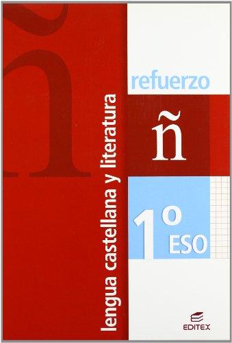 9788497714563: Lengua castellana y literatura, 1 ESO. Refuerzo