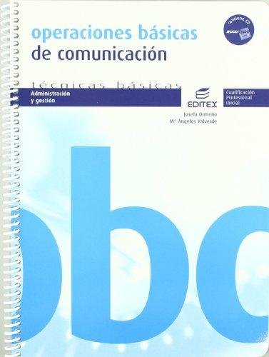 9788497715225: Operaciones básicas de comunicación (Ciclos Formativos)