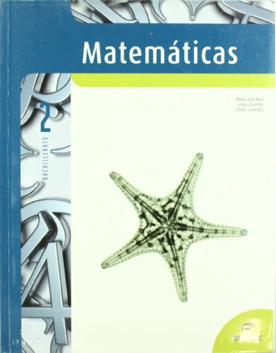 Matemáticas, 2 Bachillerato (Paperback): Carlos González García,