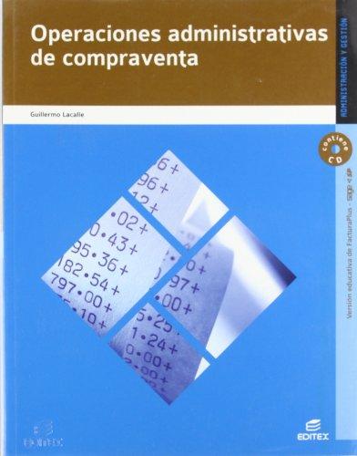 9788497716468: Operaciones adminstrativas de compraventa (Ciclos Formativos)