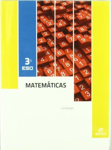 9788497719803: Matemáticas 3º ESO (Secundaria) - 9788497719803