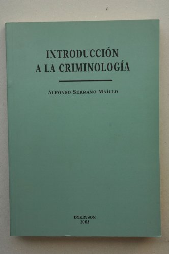 9788497721943: Introduccion a la criminologia