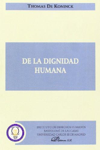 9788497729505: De La Dignidad Humana (Spanish Edition)