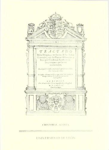 9788497734264: Tractado de las Drogas y Medicinas de la Indias Orientales.(Edicion Facsimil)