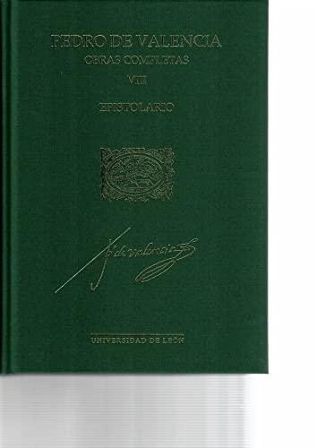 9788497739665: Obras completas Pedro Valencia. Vol. VIII: Epistolario: 39