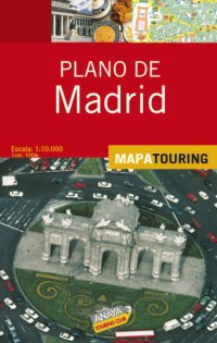 9788497766524: Plano de Madrid / Road Map of Madrid (Spanish Edition)