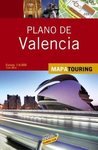 9788497768337: Plano callejero de Valencia (Mapa Touring)