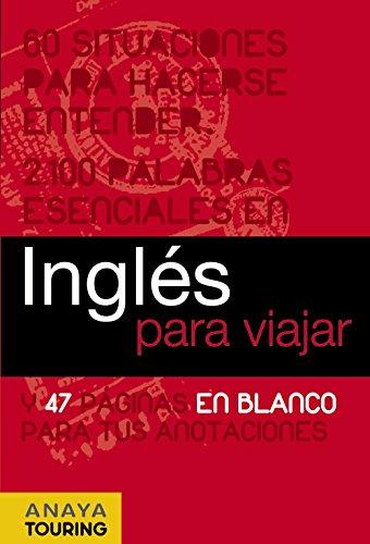 9788497768726: Inglés para viajar (Frase-Libro Y Diccionario De Viaje)