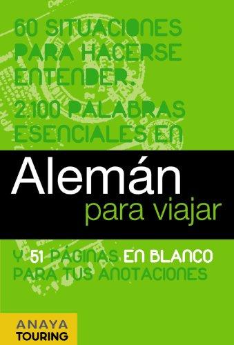 9788497768740: Aleman para viajar / German for Travel (Spanish and German Edition)