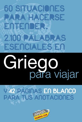 9788497768979: Griego para viajar / Greek to Travel (Spanish Edition)