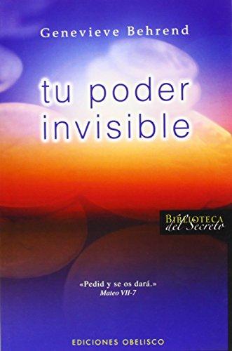 9788497774345: Tu poder invisible (Biblioteca del secreto) (Spanish Edition)