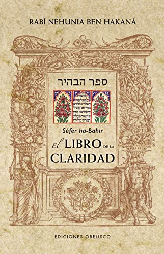 Sefer ha-Bahir / El Libro de la: Hakana, Rabi Nehunia