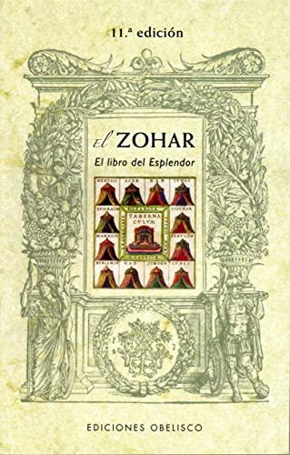 9788497779111: El zohar. Libro del esplendor (Coleccion Cabala y Judaismo) (Spanish Edition)