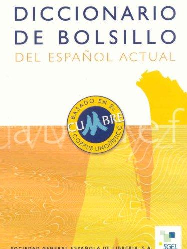 9788497781046: Diccionario Bolsillo Espanol Actual (Spanish Edition)