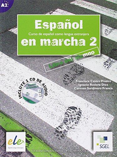 9788497781329: Espanol en marcha: Libro del alumno + CD(1) 2