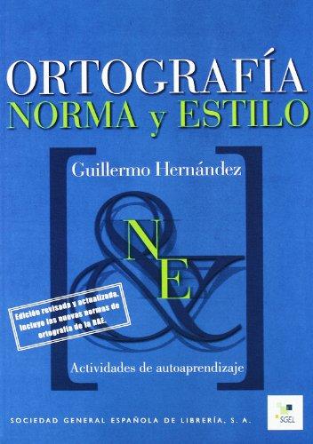 9788497781510: Ortografía norma y estilo (Cuadernas de...)