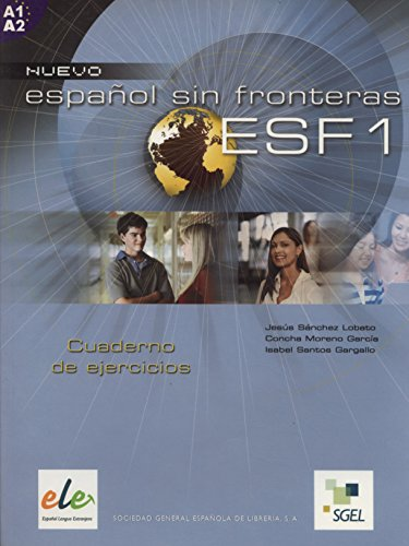 9788497781633: Nuevo Espanol Sin Fronteras 1 Exercises Book (Spanish Edition)