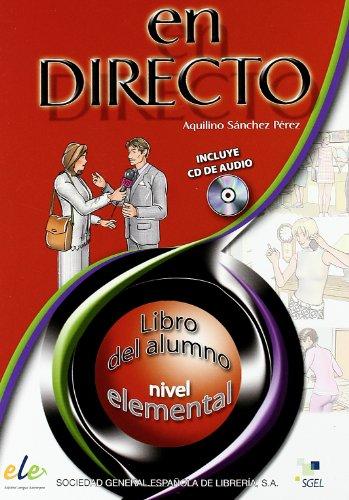 9788497781732: En Directo: Libro Del Alumno + CD 1