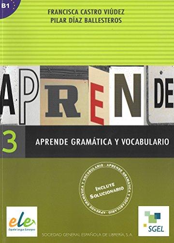 9788497781817: Aprende gramatica y vocabulario 3 (Pt. 3) (Spanish Edition)