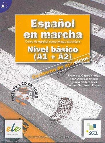 9788497782036: Español en marcha. Nivel basico A1-A2. Cuaderno de ejercicios. Per le scuole superiori. Con CD Audio: Nuevo Español en marcha Básico ejercicios + CD (Espanol en Marcha)