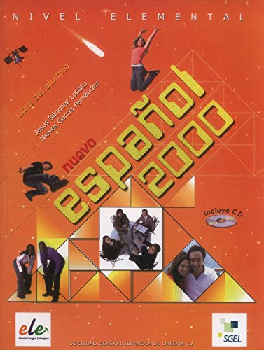 9788497783002: Nuevo Espanol 2000 Nivel Elemental. Libro del Alumno. (Con CD) (Spanish Edition)