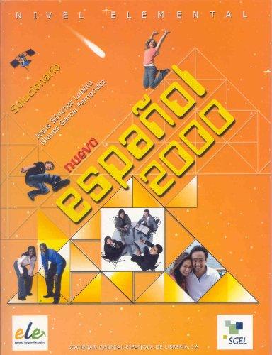 9788497783033: Nuevo Español 2000: Nivel Elemental. Solucionario.