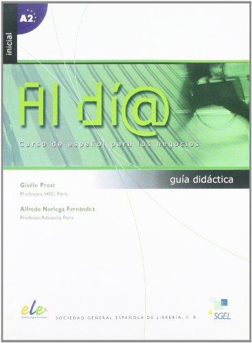 9788497783163: Al día inicial guía didáctica (A1/A2) (Al Dia)