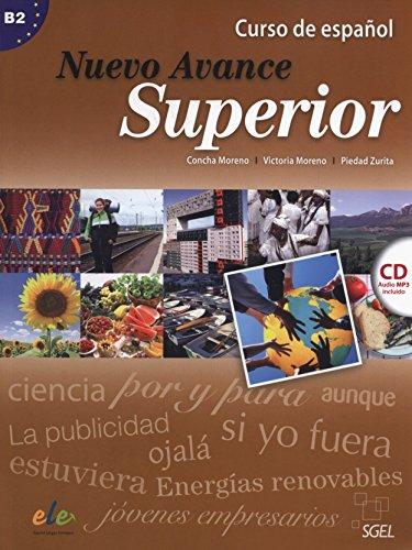 9788497783774: Nuevo Avance superior alumno + CD