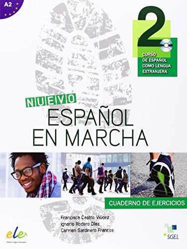 Nuevo Español en Marcha 2,A2 ejercicios +: Castro Viudez ,