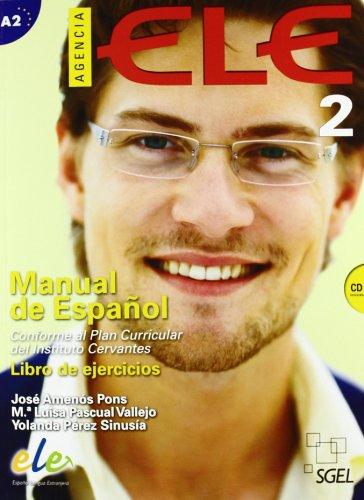 Agencia ELE 2 (A2). Libro de ejercicios. (+CD): AMENOS PONS/PASCUAL VALLEJO/PEREZ SINUSIA