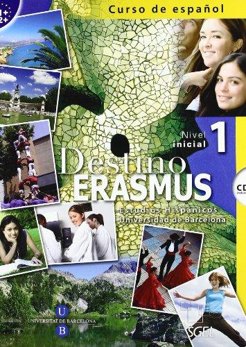 9788497784122: Destino erasmus. Per le Scuole superiori. Con CD Audio: Destino Erasmus 1 + CD