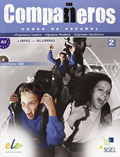Companeros 2: Student Book + CD: Diez, Ignacio Rodero